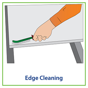 edge cleaning