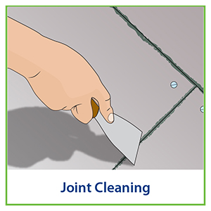 joint cleaning